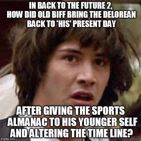 Back To The Future Meme - conspiracy keanu meme imgflip
