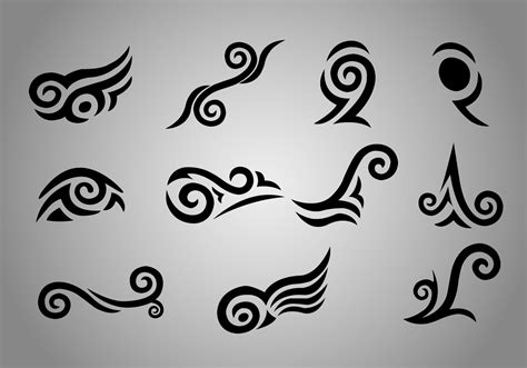 tattoo design gallery free download free maori koru vectors free vector