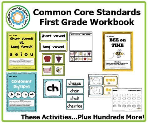 Common Math Worksheets 1st Grade by Grade Common Worksheets Common Standards