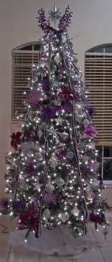 Purple Silver Decorations All The Whos Down In Whoville Purple And Silver Christmas