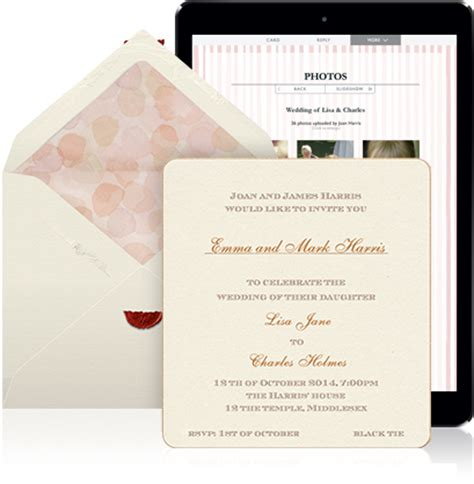 Personal Letter With Wedding Invitation learn more wedding collection eventkingdom