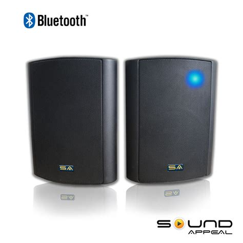 wireless outdoor indoor speakers bt blast 5 25 quot by sound