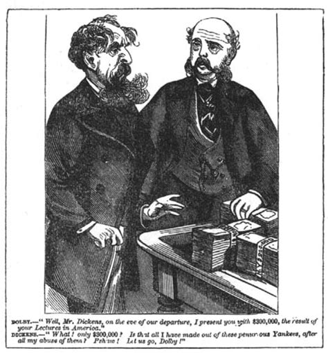charles dickens biography victorian web dickens and his american business manager