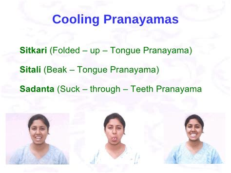 Sitali And Sitkari Pranayams To Cool Your In Summer by 2 For Pregnancy Ppt