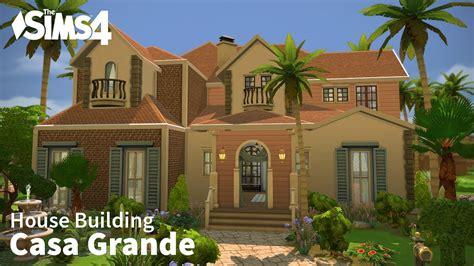 building casa the sims 4 house building casa grande
