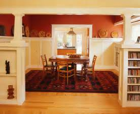 Bungalow Dining Room Craftsman Bungalow Remodel In Albany Traditional Dining Room San Francisco By Rynerson O