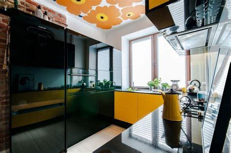 cuisine jaune et noir d 233 co cuisine archives mademoiselle d 233 co d 233 co