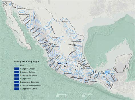 mapa de mexico con rios rios de m 233 xico rios m 225 s importantes de m 233 xico y su ubicaci 243 n