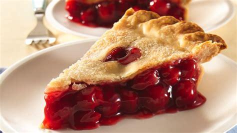 printable pie recipes easy cherry pie recipe pillsbury com