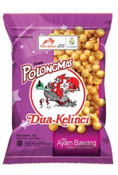 Dua Kelinci Kacang Garing 200gr pangestu produk indonesia quot kacang dua kelinci