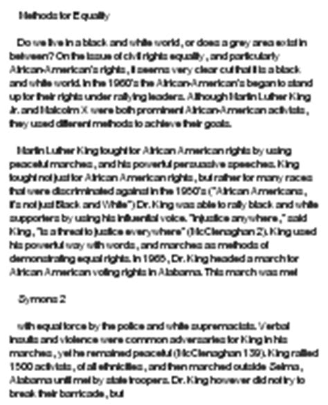 Martin Luther King Jr I A Essay by Martin Luther King Essay Exle At Essaypedia