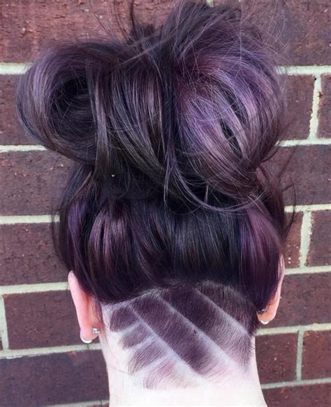 pictures of buns at the nape of the neck 50 women s undercut hairstyles to make a real statement