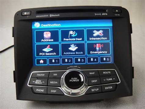 hyundai sonata 2011 navigation system 11 12 2011 2012 hyundai sonata radio cd oem gps navigation