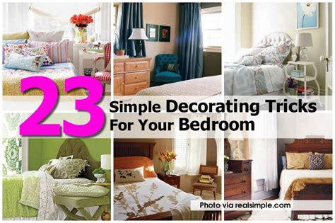 bedroom tricks 23 simple decorating tricks for your bedroom