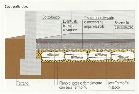 isolamento termico pavimento piano terra isolamento termico pavimento controterra terminali