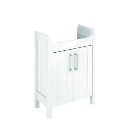 Wickes Frontera White Matt Freestanding Vanity Unit 600 Wickes Bathroom Vanity Units