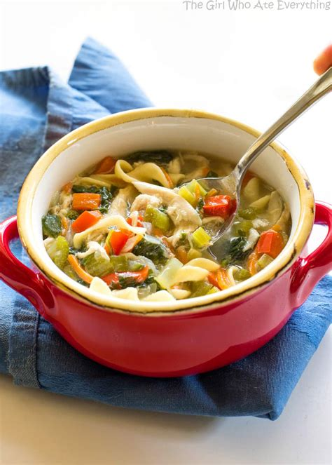 Healthy Vegetable Detox Soup by Healthy Vegetable Chicken Soup The Who Ate Everything