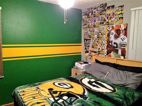 green bay packers bedroom green bay packers bedroom joey s room redo pinterest