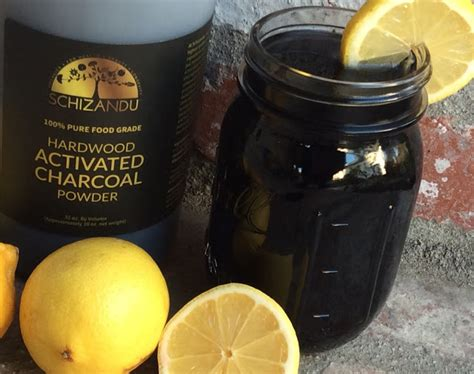 Activated Charcoal Detox Drink Recipe by Food For
