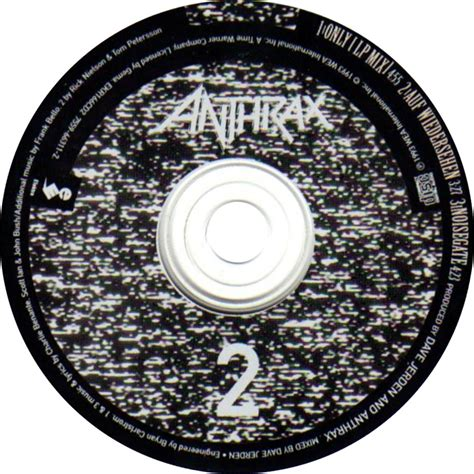 only anthrax car 225 tula cd de anthrax only portada