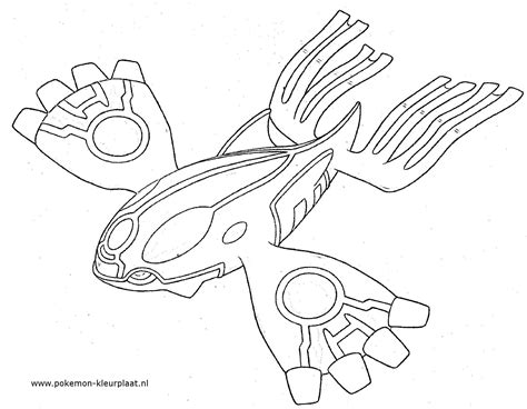 Pokemon Coloring Pages Primal Kyogre | primal kyogre primalgroudon pokemon coloringpage