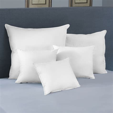 Square Pillow Inserts by Square Feather Pillow Inserts Pacific Coast