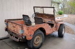 1947 Willys Jeep For Sale 1947 Willys Cj2a Sold Classic Vehicles