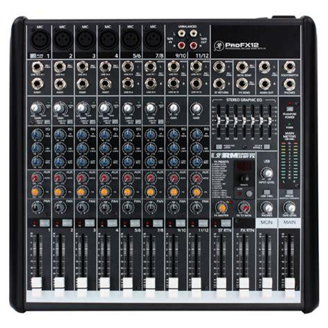 table de mixage yamaha 16 pistes table de mixage mackie profx12 canaux avec fx avec mackie