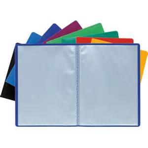 porte vue polypro 50 pochettes plastiques lutin 100 vues