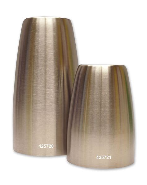 Stainless Steel Vase by Stainless Steel Floral Vase Formers 2 Set Delphi Glass