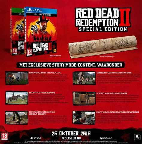 Special Edition 2 dead redemption ii special edition playstation 4