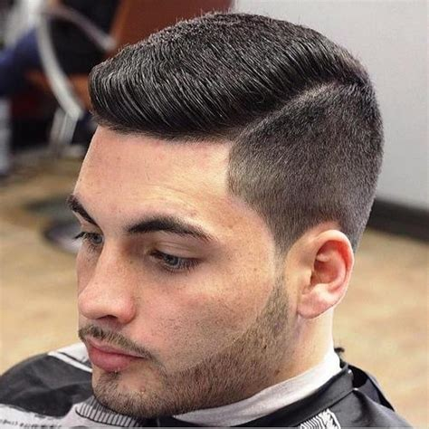 military haircut side part men 15 flat top haircuts for men