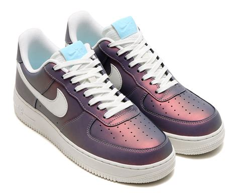 imagenes nike force nike air force 1 low 07 lv8 iridescent pack extorted