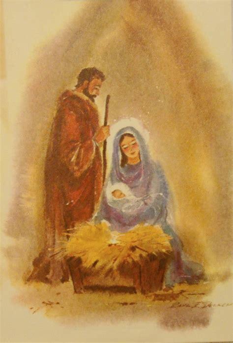 christian christmas nativity scene vintage christmas card christmas graphics 2 nativity
