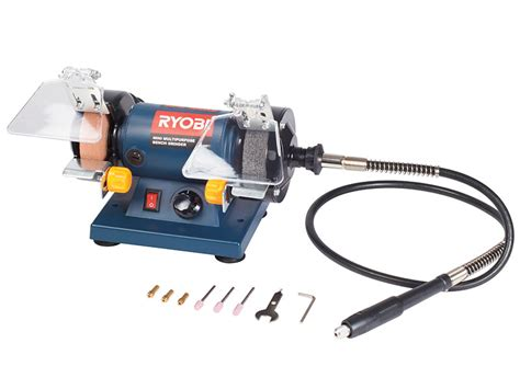 ryobi bench grinder accessories grinders ryobi 120w multi purpose bench grinder with