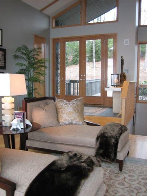 gray  oak trim living room colors paint colors