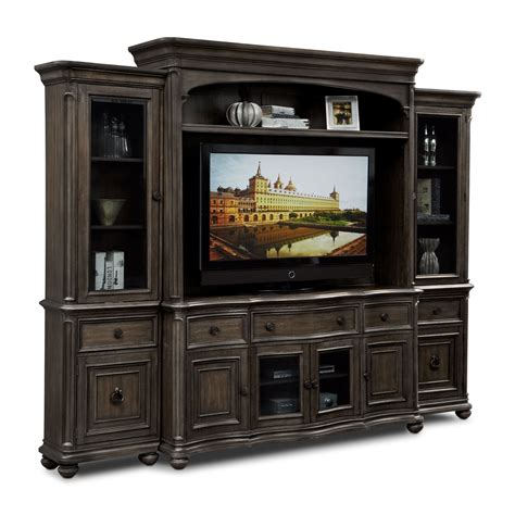 wall unit furniture highland entertainment wall units 4 pc entertainment wall unit value city furniture