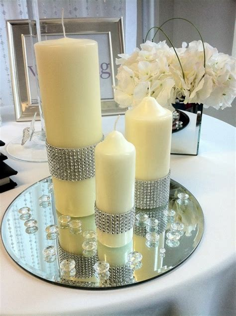 adornos de mesa para bodas con velas centros de mesa para bodas 100 ideas maravillosas