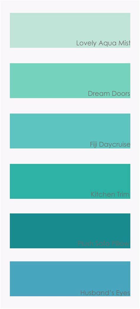 aqua paint color schemes best 25 teal colors ideas on baby