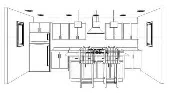 Kitchen Cabinets Design Layout by One Wall Kitchen With Island Design Yahoo Image Search