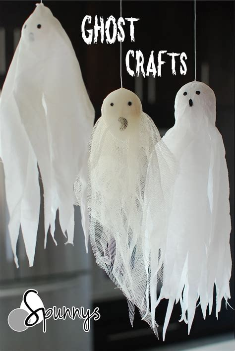 ghost crafts for ghost crafts 3 easy ornament ideas spunnys
