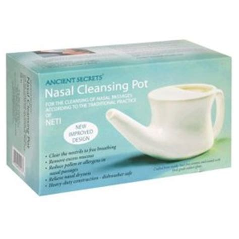 Detox Sinus Infection by Neti Pots For Nasal Cleansing Momentum98