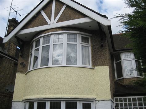 Painting the exterior of the house pebbledash painting amp decorating job in southgate north
