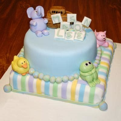 Animal Baby Shower Cakes by Adorable Animal Baby Shower Cakes Elephants Lions