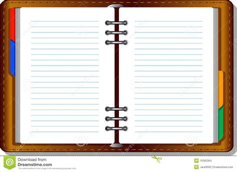 notebook organizer stock images image 16392364