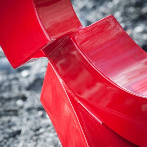 Home Interiors Cedar Falls by Rob Lorenson Red Autumn Aluminum Sculpture At 1stdibs