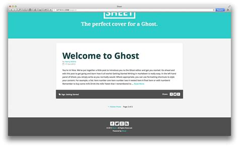 creator theme ghost how to create a theme for ghost webdesigner depot