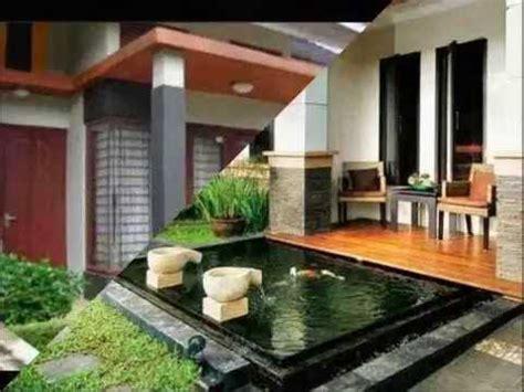desain halaman teras rumah minimalis cantik idaman  keren  bagus banget youtube