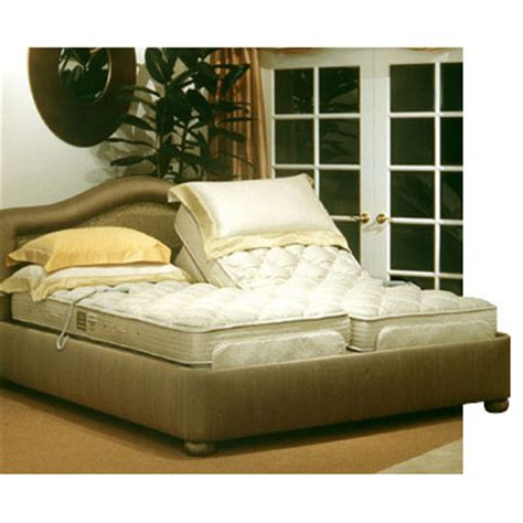 electric adjustable bed with royal pedic mattress