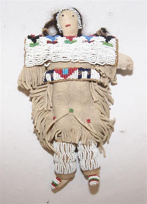 beaded doll sioux beaded doll